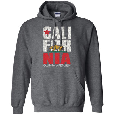 California Republic Hoodie - Shipping Worldwide - NINONINE