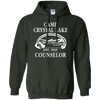 Camp Crystal Lake Hoodie - Forest Green - Shipping Worldwide - NINONINE