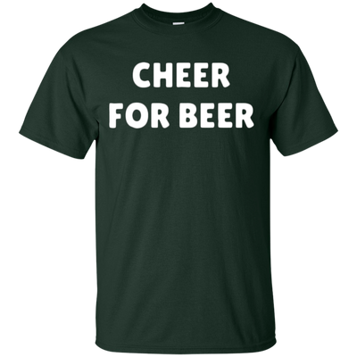 Cheer For Beer Shirt - Forest - Shipping Worldwide - NINONINE