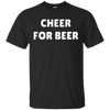 Cheer For Beer Shirt - Black - Shipping Worldwide - NINONINE