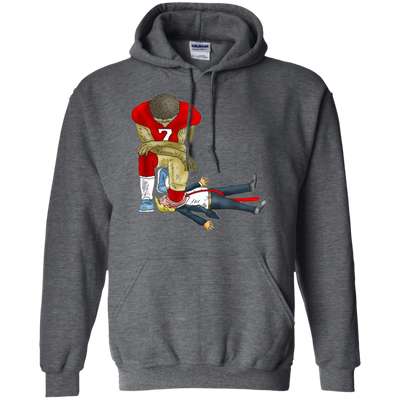 Colin Kaepernick Kneels Donald Trump Hoodie - Shipping Worldwide - NINONINE