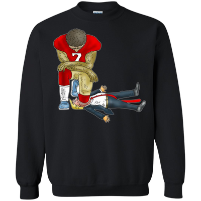 Colin Kaepernick Kneels Donald Trump Sweater - Shipping Worldwide - NINONINE