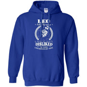 Confronted By None Leo Zodiac Signs Hoodie