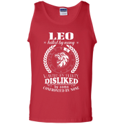 Confronted By None Leo Zodiac Signs Tank Top