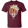 Conor Mcgregor Tiger Shirt - Maroon - Shipping Worldwide - NINONINE
