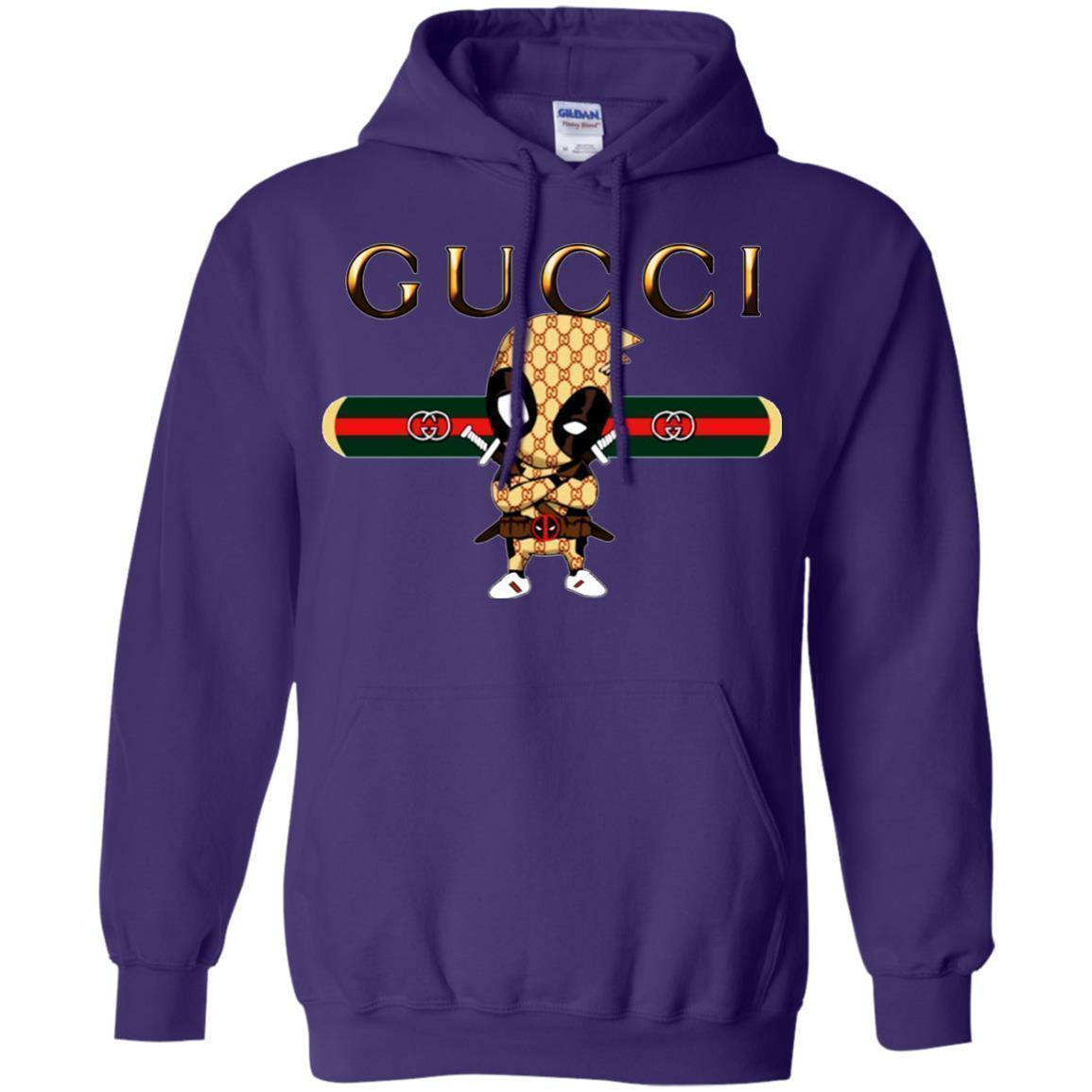 official site affordable price great look Deadpool Gucci Hoodie - NINONINE
