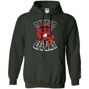 Deadpool On Kitty Bicycle Maximum Effort Hoodie