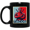 Deadpool Taco Mug Portrait - Shipping Worldwide - NINONINE