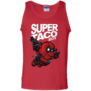 Deadpool Taco Tank Top Super Taco Boy