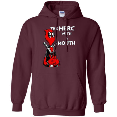 Deadpool The Merc With A Mouth Hoodie - Shipping Worldwide - NINONINE