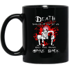 Death Smiles At All Of Us Only The Brave Smile Back Fairy Tail Mug - Shipping Worldwide - NINONINE