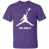 Donald Trump Just Grab It Shirt - Purple - Shipping Worldwide - NINONINE