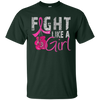Fight Like A Girl Shirt - Forest - Shipping Worldwide - NINONINE