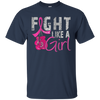 Fight Like A Girl Shirt - Navy - Shipping Worldwide - NINONINE