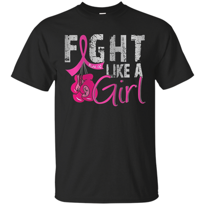 Fight Like A Girl Shirt - Black - Shipping Worldwide - NINONINE