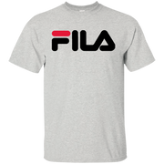 Fila Shirt Red Black Logo