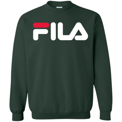 Fila Sweater Red White Logo - Forest Green - Shipping Worldwide - NINONINE