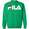 Fila Sweater Red White Logo - Irish Green - Shipping Worldwide - NINONINE