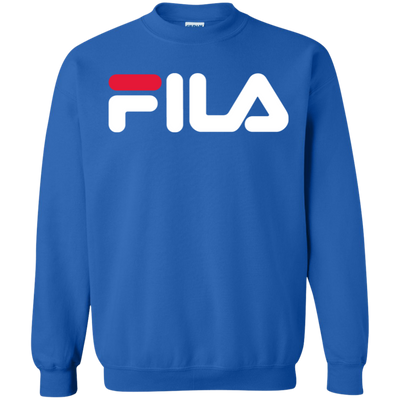 Fila Sweater Red White Logo - Royal - Shipping Worldwide - NINONINE