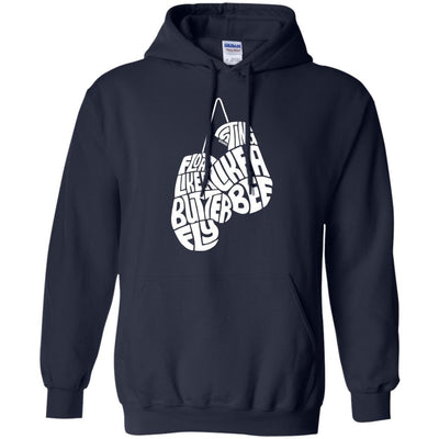 Float Like A Butterfly Sting Like A Bee Hoodie - Shipping Worldwide - NINONINE