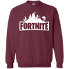 Fortnite Sweatshirt Sweater Youth - Maroon - Shipping Worldwide - NINONINE