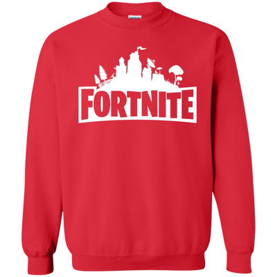 Fortnite Sweatshirt Sweater Youth - Red - Shipping Worldwide - NINONINE