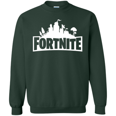 Fortnite Sweatshirt Sweater Youth - Forest Green - Shipping Worldwide - NINONINE