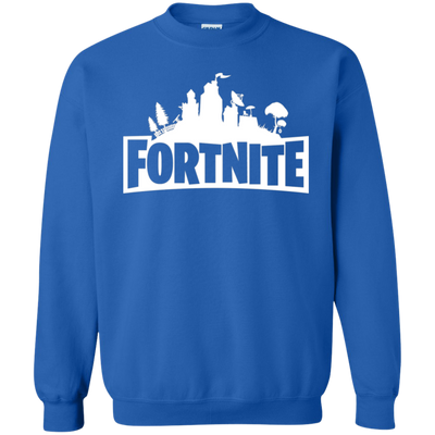 Fortnite Sweatshirt Sweater Youth - Royal - Shipping Worldwide - NINONINE