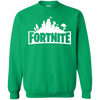 Fortnite Sweatshirt Sweater Youth - Irish Green - Shipping Worldwide - NINONINE
