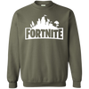 Fortnite Sweatshirt Sweater Youth - Military Green - Shipping Worldwide - NINONINE