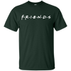 Friends Shirt Dark Style - Forest - Shipping Worldwide - NINONINE