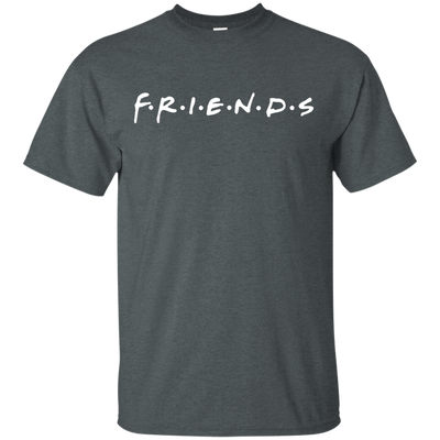 Friends Shirt Dark Style - Dark Heather - Shipping Worldwide - NINONINE