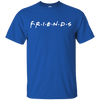 Friends Shirt Dark Style - Royal - Shipping Worldwide - NINONINE