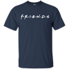 Friends Shirt Dark Style - Navy - Shipping Worldwide - NINONINE