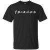 Friends Shirt Dark Style - Black - Shipping Worldwide - NINONINE