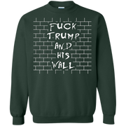 Fuck The Wall Sweater Fuck Trump And His Wall