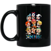 Funny Straw Hat Pirates Chibi One Piece Mug - Shipping Worldwide - NINONINE