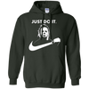 Halloween Just Do It Michael Myers Hoodie - Forest Green - S - - NINONINE