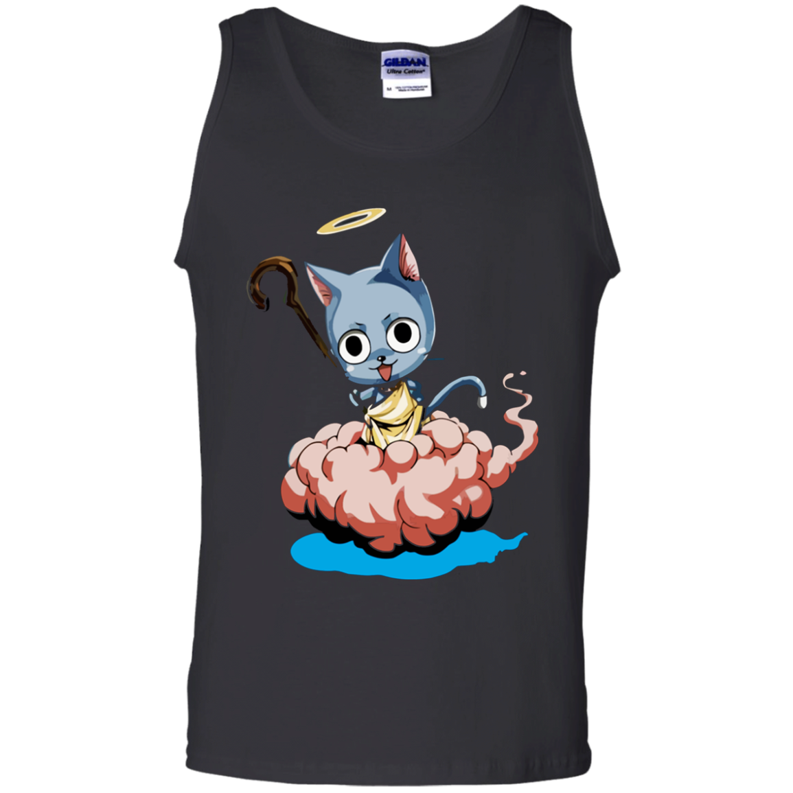Happy Fairy Tail Cloud Tank Top