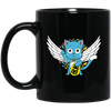 Happy Wings Lucky Cat Fairy Tail Mug - Shipping Worldwide - NINONINE