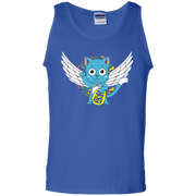 Happy Wings Lucky Cat Fairy Tail Tank Top