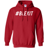 Hashtag Blexit Hoodie - Red - Shipping Worldwide - NINONINE
