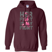 Her Fight is My Fight Breast Cancer Hoodie