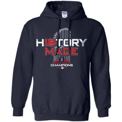 History Made Hoodie Red Sox - Navy - Shipping Worldwide - NINONINE