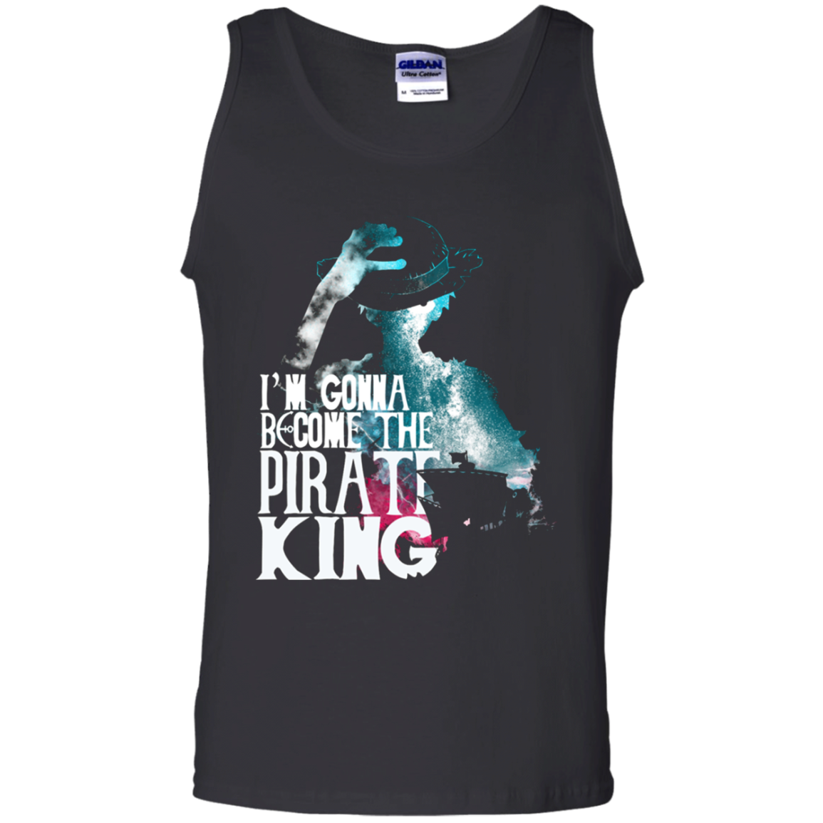 I Am Gonna Become The Pirate King Luffy One Piece Tank Top