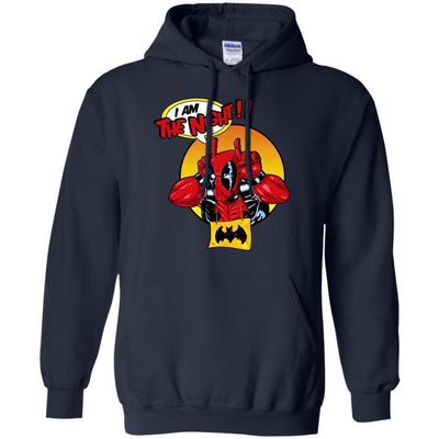 I Am The Knight Deadpool Hoodie - Shipping Worldwide - NINONINE