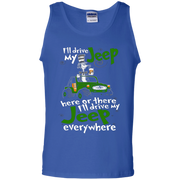 I'll Drive My Jeep Everywhere Tank Top
