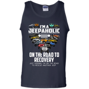 I'm A Jeepaholic On The Road To Recovery Tank Top