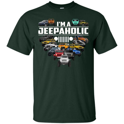 I'm A Jeepaholic Shirt - Shipping Worldwide - NINONINE