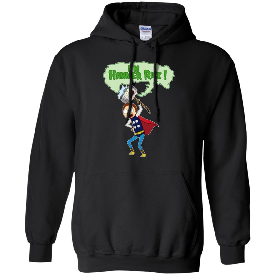 I'm Hammer Rick And Morty Hoodie